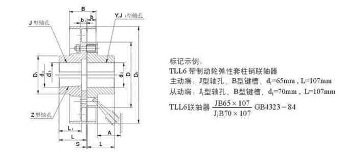 TL型弹性套柱销联轴器