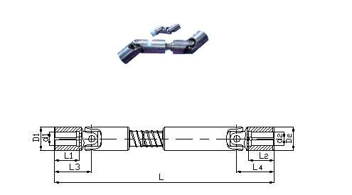 WSD WS 系列小规格万向联轴器