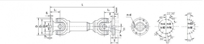 SWP-B型--有伸缩短型万向联轴器